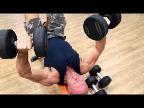 Крутая суперсерия для грудных мышц!!!!