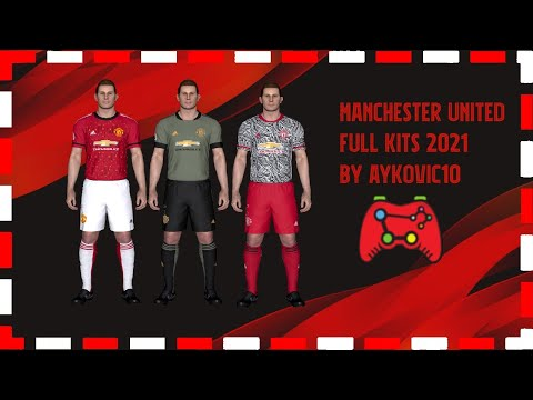 Pes 2017 Manchester United Leaked Official Kits 2021 By Aykovic10 Youtube