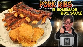 Making Food Monday: Pressure Cooker Fall-off-the-bone Pork Ribs in BBQ sauce