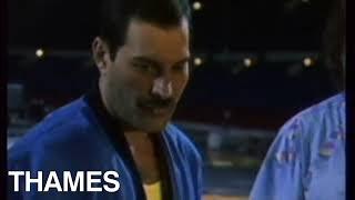 Queen | Freddie Mercury | Queen at Wembley | Thames news | 1986