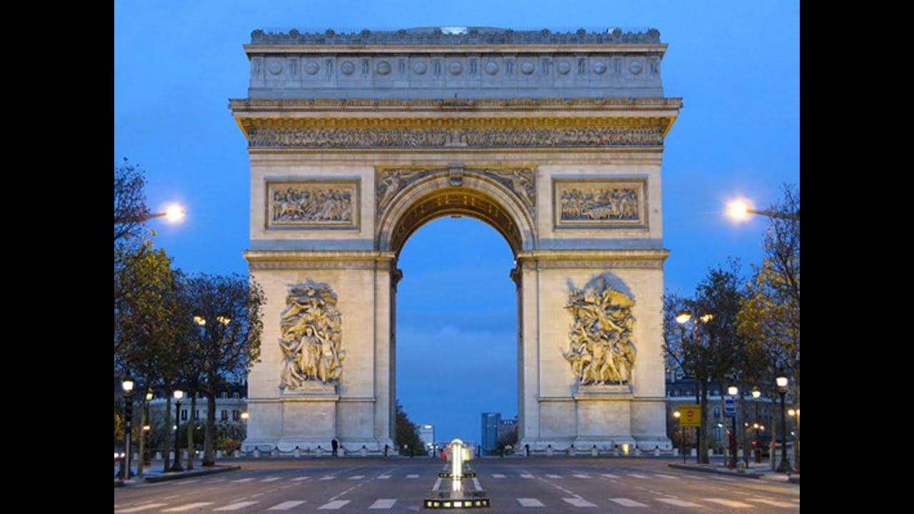 arc de triomphe de l 39 toile paris 8e arrondissement youtube. Black Bedroom Furniture Sets. Home Design Ideas