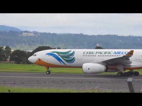Plane Spotting at Davao International Airport – November 21,