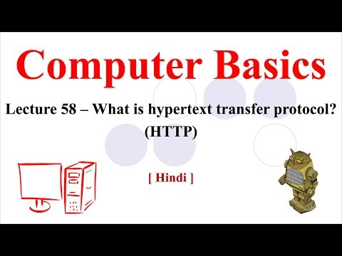 Lecture 58 - What is Hypertext Transfer Protocol? | Explanation of HTTP [Hindi/Urdu]