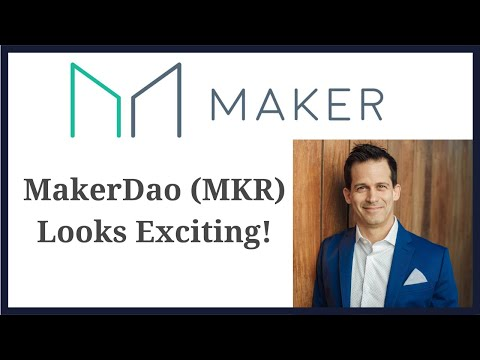 Makerdao (MKR) cryptocurrency token is a banking system buil