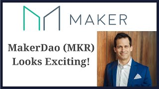 Makerdao (MKR) cryptocurrency token is a banking system built with smart contracts on Ethereum