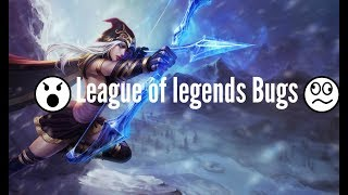 Top 10 Bugs |  League Of Legends  | Funny Moments Ever