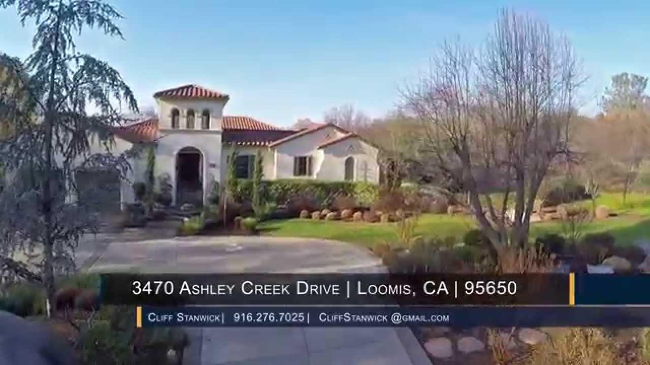 for sale 3470 ashley creek drive loomis ca 95650 youtube