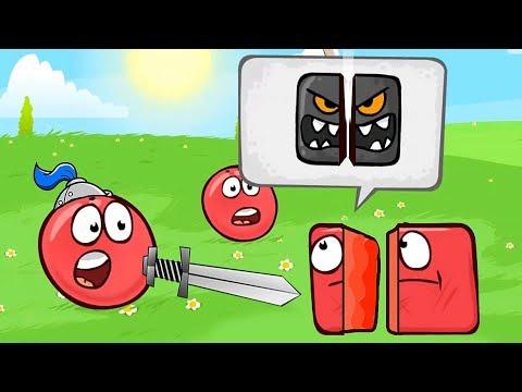 ОГО ! НА ДВЕ ЧАСТИ ! МУЛЬТИК ПРО КРАСНЫЙ ШАРИК ! Игра про Red Ball 4  от Спуди !
