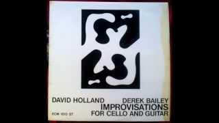 David Holland & Derek Bailey: Improvised Piece III