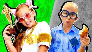БОГАТАЯ школьница vs БЕДНАЯ школьница #2 - Каждый школьник такой -  Мы семья Вайны