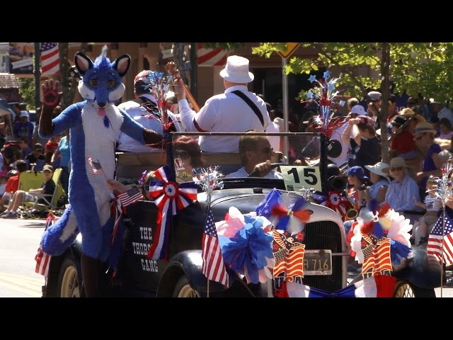 Highlights of the 2015 Novato 4th of July Parade