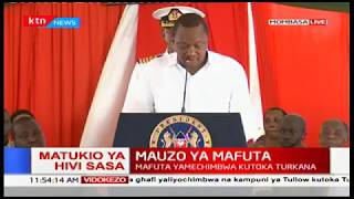 President Uhuru Kenyatta full speech during oil export Inauguration in Mombasa