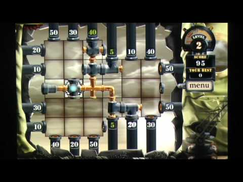 Reiner Knizia's City of Secrets Pipes iPhone Gameplay Review - AppSpy.com