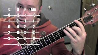 Safe and Sound- Guitar Lesson (Standard Chord Version) Capital Cities