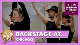 In rehearsal: Chicago in the West End
