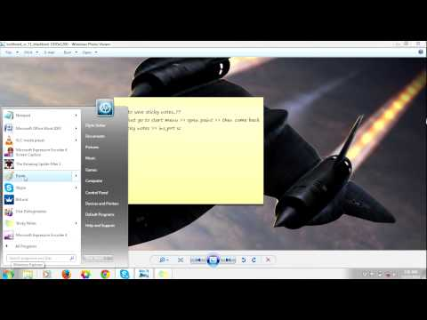 HOW TO SAVE YOUR STICKY NOTES IN YOUR PC
