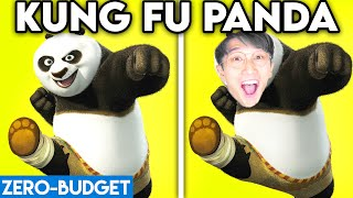 KUNG FU PANDA WITH ZERO BUDGET! (KUNG FU PANDA MOVIE PARODY BY LANKYBOX!)