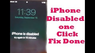 iPhone Disabled ? iphone disabled connect to 3u-Tools or  itunes ons click  fix Done 100%