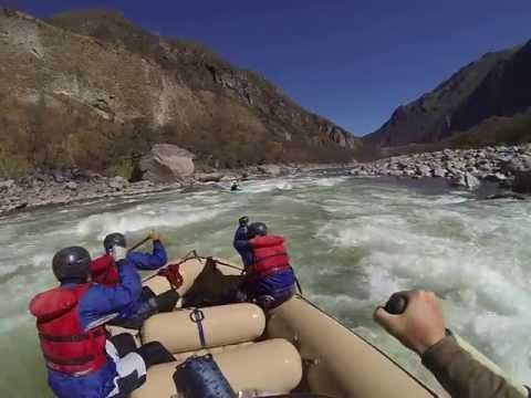 Whitewater Rafting on the Apurimac River, Peru.