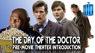 The Day of the Doctor - Hilarious Pre-Movie Theater Introduction
