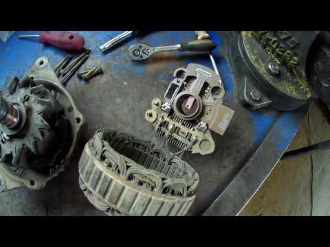 BYD F3 2008г ремонт генератора