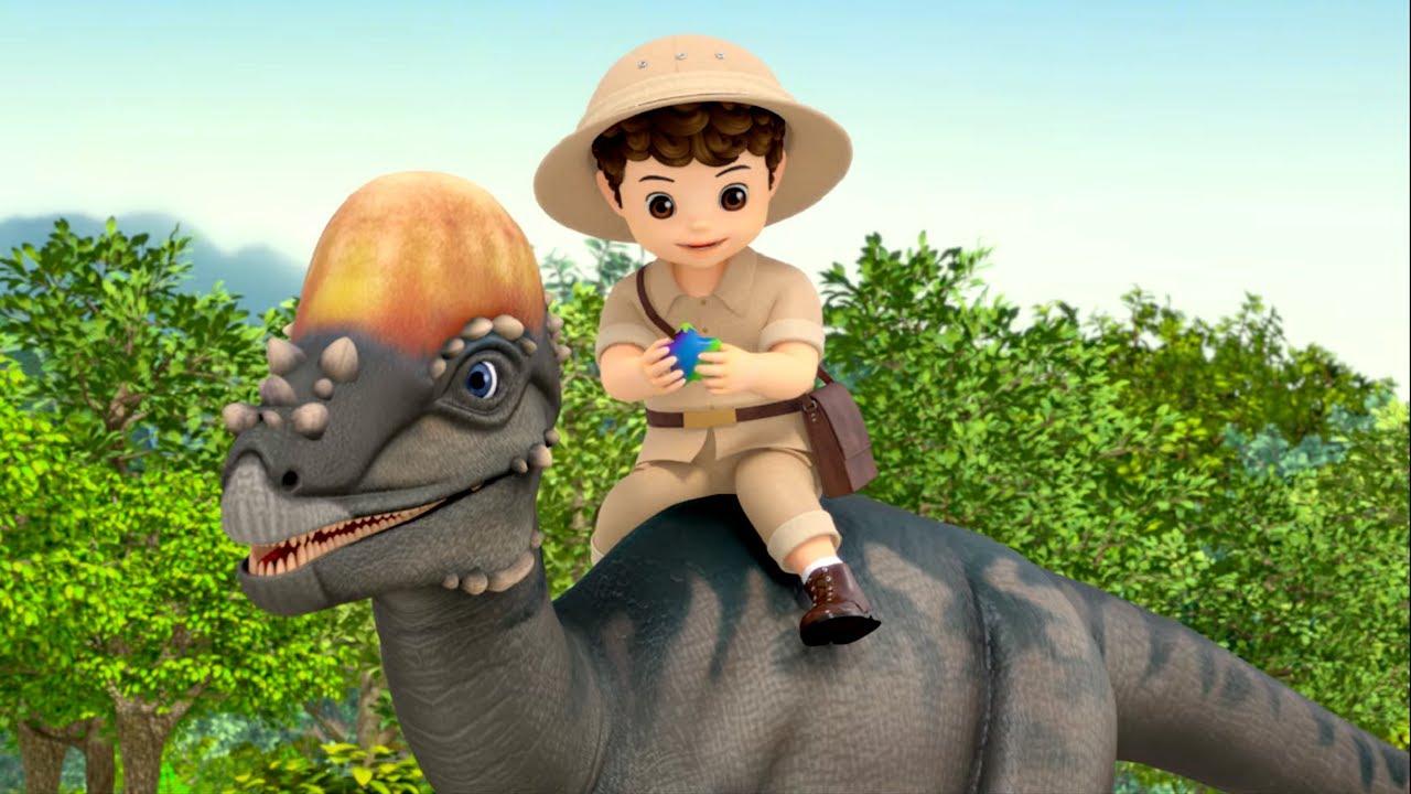 Консуни - сборник - все серии про маленького динозавра, который потерял маму  - Мультик для  девочек