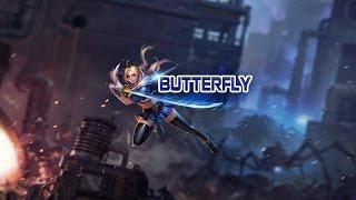 hướng dẫn chơi tướng butterfly st thủ siu cấp lin qun mobile