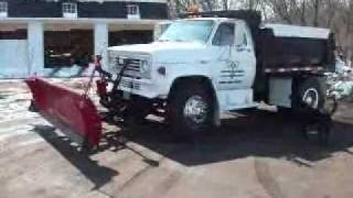 1984 GMC Sierra 7000 Dump Plow Truck 56k 366 Gas 5+2 - CALL FOR PRICE