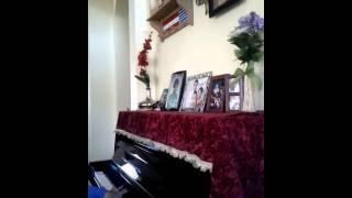 Souvenir d'enfance (ky niem thoi au tho) piano by anh nguyen