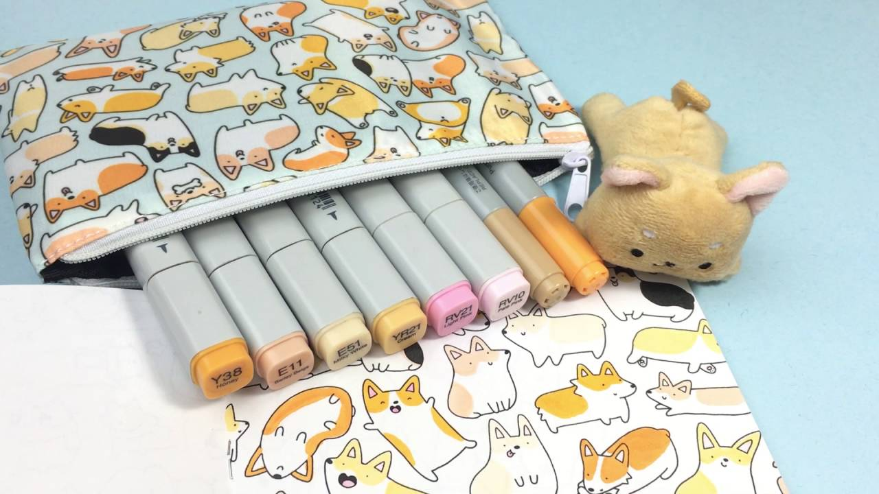 Cute Corgi Coloring Kirakira Coloring Book Youtube