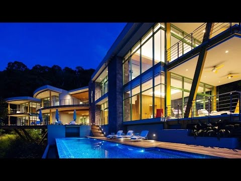 Awarded Eco-Friendly Tropical Lucury Residence in Costa Rica (by SARCO Architects)