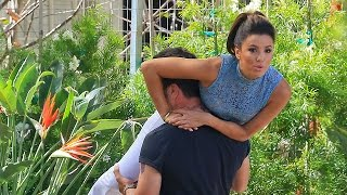Eva Longoria Shows Commitment For