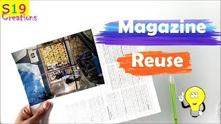 Amazing idea with magazine | Diy arts and crafts | Best out of waste ideas | easy and fun to make