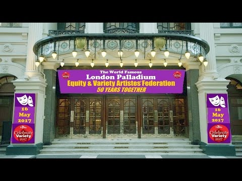 VAF EQUITY 50th CELEBRATIONS - LONDON PALLADIUM