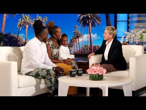 Ellen Gets Motivated with 3-Year-Old Ayaan Diop