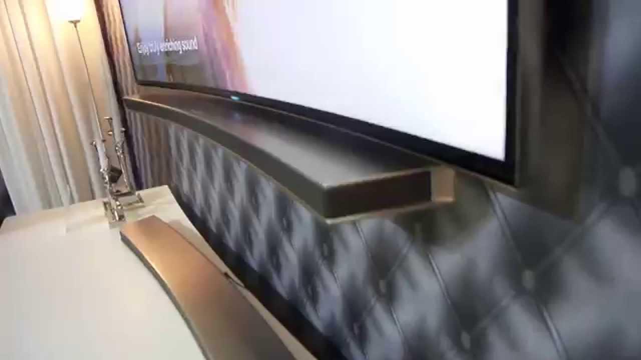 Samsung Curved Soundbar Review Youtube
