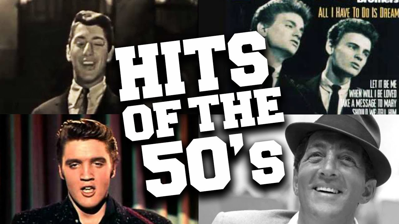 Top 50 Greatest Hits Of The 50s Youtube