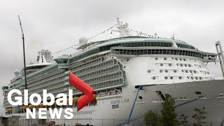 Grandfather thought there was glass where toddler fell to death on cruise ship: attorney