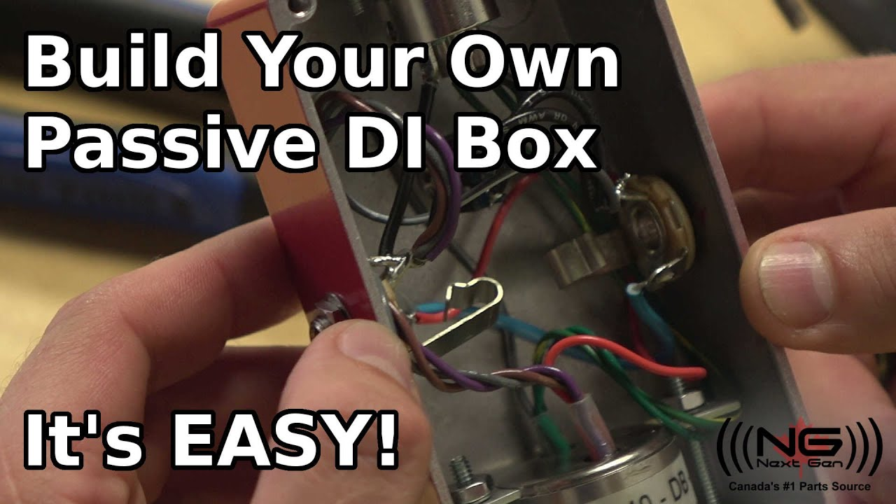 Build Your Own Pive DI Box (easier than you think) on