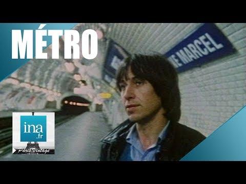 1982 : Dans le métro à Paris | Archive INA