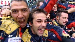 Download Video Your Favourite Italian Grand Prix - 2008 Vettel's Victory MP3 3GP MP4