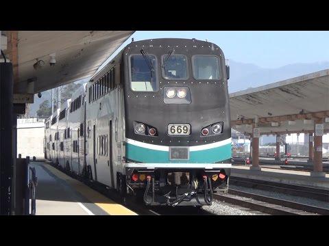 Railfanning Los Angeles Union Station 3/12/2017