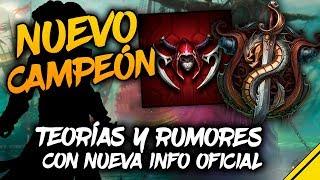 TEORÍAS, RUMORES y NUEVA INFO OFICIAL del NUEVO CAMPEÓN | Noticias League Of Legends Jota LoL
