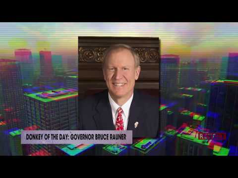 Governor Bruce Rauner | Donkey of the Day