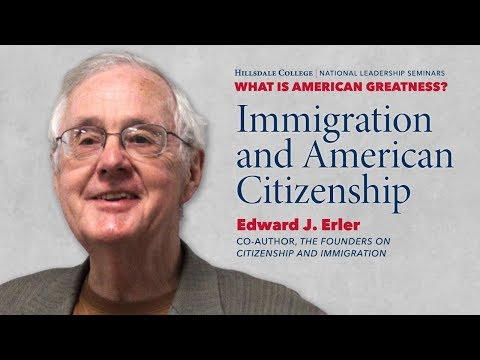 Immigration and American Citizenship