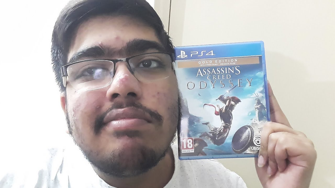 Assassins Creed Odyssey Ps4 Pro Gold Edition Unboxing Indian Unboxing