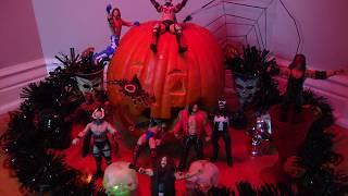 Halloween WWE Figure set up