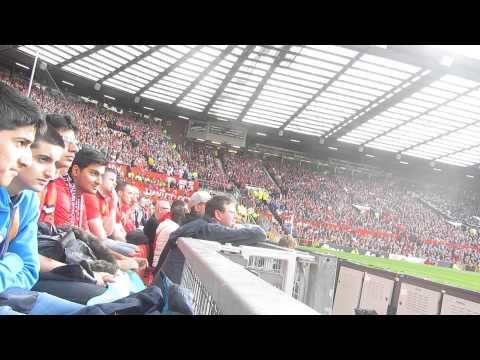 Southampton singing at Old Trafford