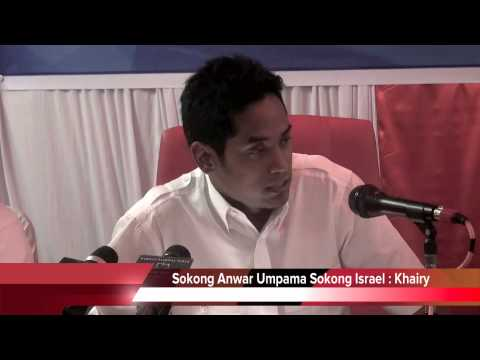 Sokong Anwar Umpama Sokong Israel : Khairy