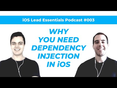 iOS, Swift & DI: The antidote to legacy code and stagnant careers | iOS Lead Essentials Podcast #003 thumbnail